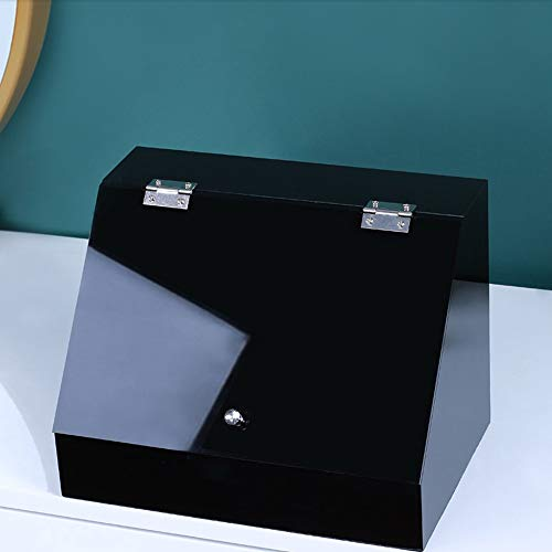 Kcakek Cosmetische Skin Care Jewelry Storage Box bestofte opslag Rack Grote Desktop kaptafel Simple Dustproof Storage Box cosmetische opbergdoos Organizer