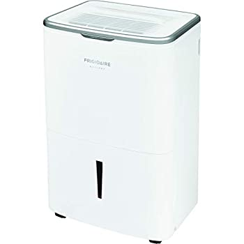 Frigidaire Energy Star 50 Pints-Per-Day Wi-Fi Controls Large Dehumidifier for Home Basement and More FGAC5044W1 White