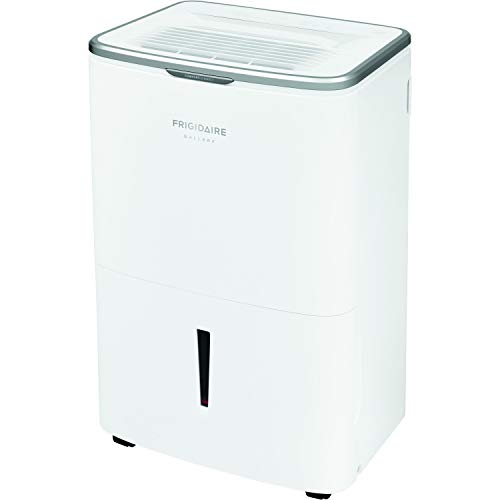 Frigidaire Energy Star 50 Pints-Per-Day Wi-Fi Controls, Large Dehumidifier for Home, Basement, and More, FGAC5044W1, White