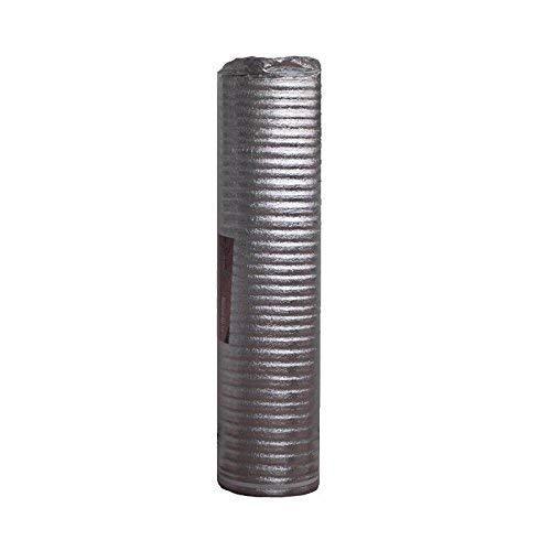 Base Aislante FOAM7 - MOISTURE 3.0 de 3mm. 20m2. Mejor Acústico Antihumedad para Tarimas y Parquet; Subsuelo Protección Metalizada. Cubre la humedad e irregularidades. PE Ecológico
