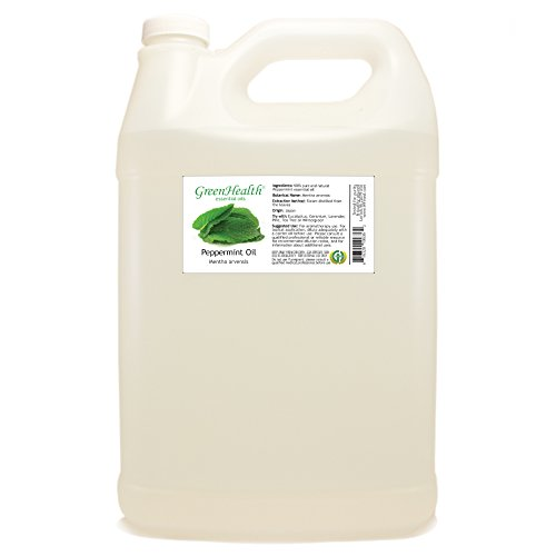 GreenHealth - 1 Gallon Japanese Peppermint Essential Oil (Pure and Uncut Essential Oil)