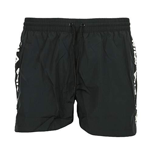 Fila Herren Badeshorts Men SHO Swim Shorts Black, Schwarz XS