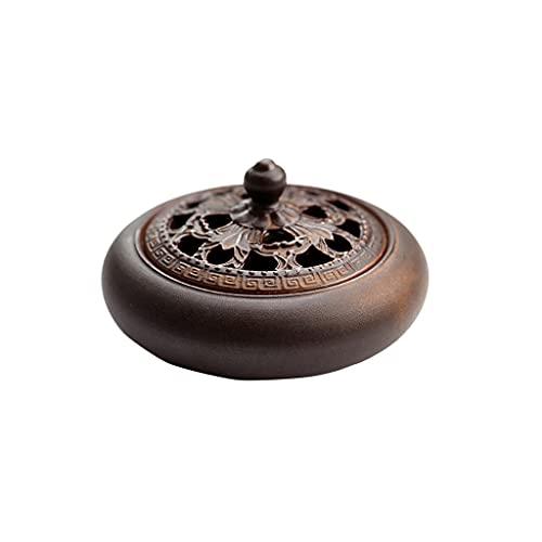 MBJ Incense Burner Home Indoor Ceramics Antique Sandalwood Burner Incense Burner for The Buddha Tea Ceremony Creativity Vaporizer