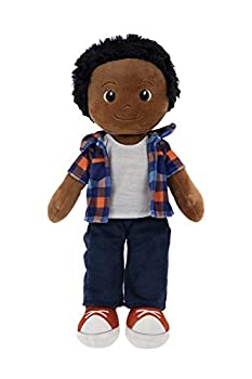 """Playtime by Eimmie Soft Rag Doll - 14"""" First Baby Doll for Kids - Plush Baby Toy - Safe for All Ages  Charlie"""