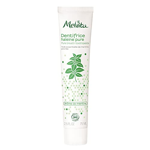 Melvita(メルヴィータ) エッセンスBIO ホワイトティース トゥースペースト 75mL 歯磨き粉 オーガニック ミント 白