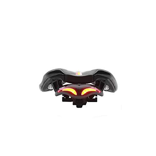 MapleIT BENEX Luce per Bicicletta USB Ricarica Tipo di Pipistrello Luce di Coda Creativa a LED per Esterni Sport Guida Fanale Posteriore Bicycle Light