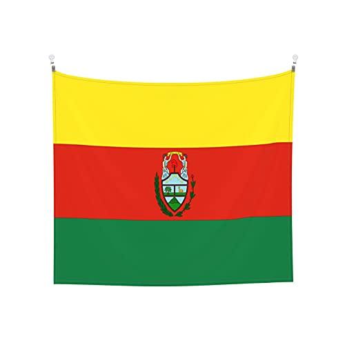 Tapisserie Flaggen von Bolivien, Wandbehang, Boho, beliebt, mystisch, Trippy, Yoga, Hippie, Wandteppiche für Wohnzimmer, Schlafzimmer, Schlafsaal, Heimdekoration, schwarz & weiß Stranddecke