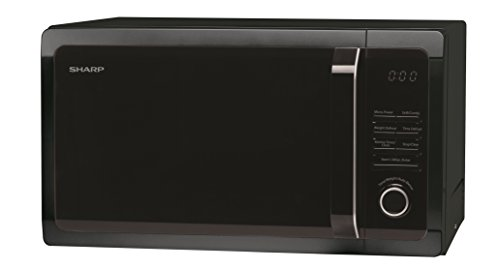Sharp R764KM Grill Microwave, 25 Litre, 900 W, Black