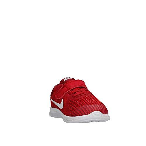 Nike Nike Revolution 4 (tdv), Unisex Kid's Gymnastics Shoes, Red (Gym Red/White-Team Red-Black 601), 1.5 Child UK (17 EU)