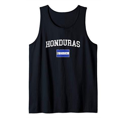Bandera de Honduras Vintage orígenes de Honduras Camiseta sin Mangas