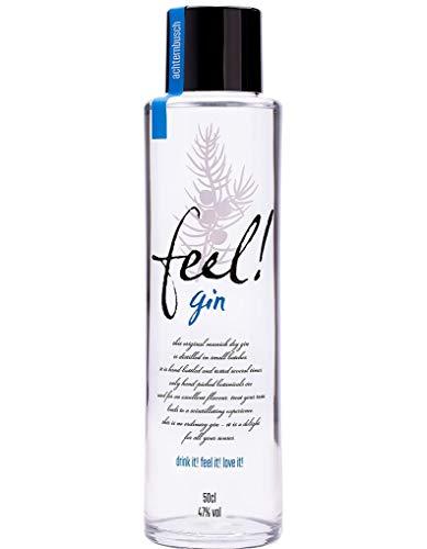 Feel! Gin | Bio Micro-Batch | Handmade | fruchtig, frischer Gin aus biologischen Zutaten auf Maisbasis (1 x 0.5 l)