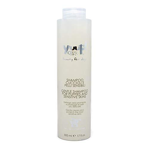 Yuup Shampoo Cuccioli e Pelli Sensibili - Deterge delicatamente e protegge le pelli più delicate, per cani e gatti