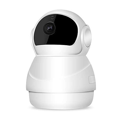 CHENPENG Cámara de Seguridad para el hogar, Monitor de cámara para bebés 1080P, con detección de Movimiento, Audio bidireccional, visión Nocturna, aplicación de teléfono
