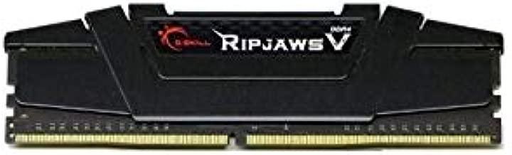 G.Skill F4-3200C16D-8GVKB Ripjaws V - Memoria DDR4, 8GB (4GBx2)