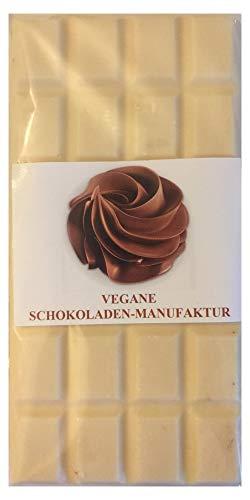 Alternativa senza lattosio al cioccolato bianco con nocciole (VEGANE SCHOKOLADEN-MANUFAKTUR) 100g