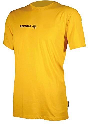 Beuchat Tee-Shirt Waterwear-Jaune PLONGÉE T Diving Giallo, Unisex-Adulto