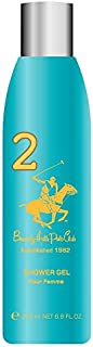 Beverly Hills Polo Club Body Wash for Women, No 2, 200ml
