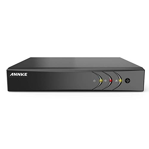 ANNKE 8CH 5-in-1 1080P Lite Security Standalone DVR H.264+ HDMI Output, Quick QR Code Scan and Easy Remote View for Home Security Surveillance Camera System,NO Hard Drive Included