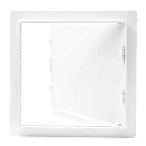 Morvat Plastic Access Panel 12 X 12, Access Door for Drywall, Access Panel for Drywall, Wall Access Panel, Plumbing Access Panel, Heavy Durable Plastic, White