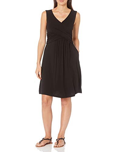 Amazon Essentials Women's Sleeveless Crossover Dress