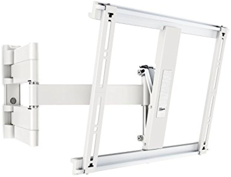 Vogel's THIN 445 TV-Wandhalterung für 66-140 cm (26-55 Zoll) Fernseher, schwenkbar und neigbar, max. 18 kg, Vesa max. 400 x 400, Wei