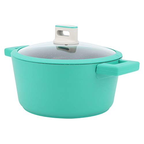 Olla de sopa con tapa Olla de sopa de aleación de aluminio Olla de sopa binaural Olla de suplemento de comida para bebés