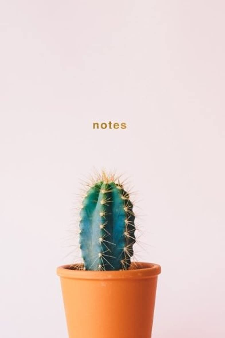 現代の福祉時制Notes: Cactus Notebook Wide-Ruled 175-Pages (Cactus Notebooks)