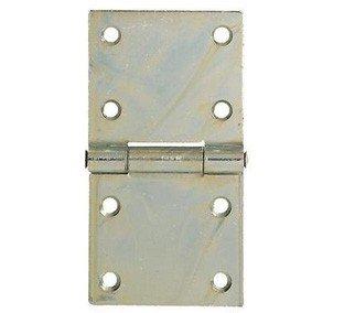 Bisagras rectangulares pesados de acero galvanizado aldeghi Art.126–3