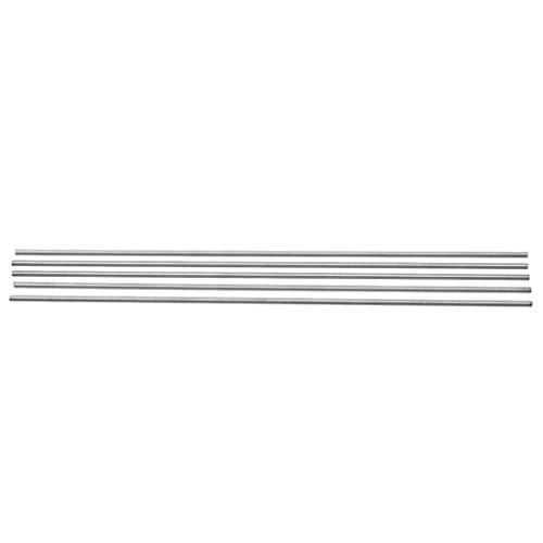 5pcs 304 Edelstahl Kapillarrohr Silber Tubes 3mm OD 2 Mm ID 250mm Länge, Mit Oxidationsbeständigkeit