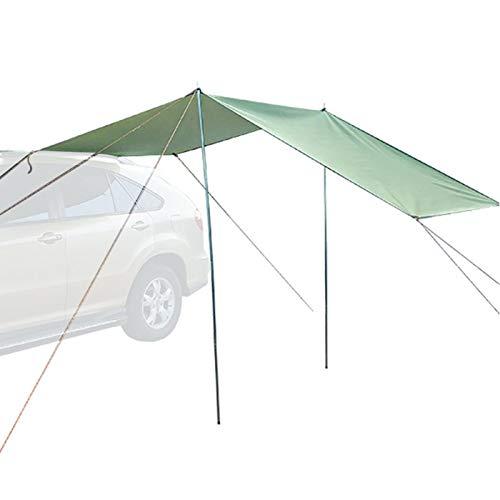 Auto Vorzelt Sonnensegel, wasserdichtes tragbares Campingzelt Autodach Regendach für Schrägheck, Minivan, Limousine, Camping, Outdoor