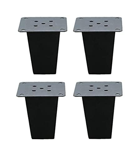 LSLS Patas para Muebles Patas de Muebles de Madera Maciza, gabinete/sofá Pies de Repuesto, Mesa de Centro Soporte de pie, Accesorios de Muebles de Bricolaje Patas para Muebles Patas de Mesa