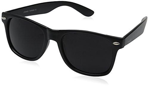 ZeroUV–Classic gafas de sol con borde de cuerno de Gran Retro Estilo Gafas de sol