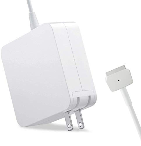 Mac Book Air Pro Charger, Compatible 45W T-Tip Power MacBook Air 11/13 inch Laptop Magsafe 2 Replacement for HP, Dell Computer Adapter with USB Port