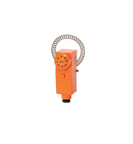 Eberle Controls 875010001000 Rohranlegeregler RAR 875 01 (mit Außenskala, Bimetall-Technik, Kontakt: 1 Wechsler, Schaltstrom 15 (2,5) A)