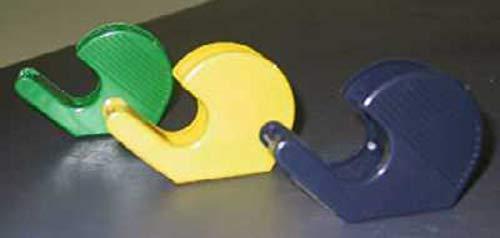 Heckmann HA 3319S - Avvolgitore manuale vuoto, in plastica, per rotoli fino a 19 mm x 33 m, colori assortiti