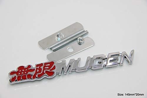 B212 Mugen Power Kühlergrill vorn Emblem Zeichen Badge Car Sticker Truck Frontgrill