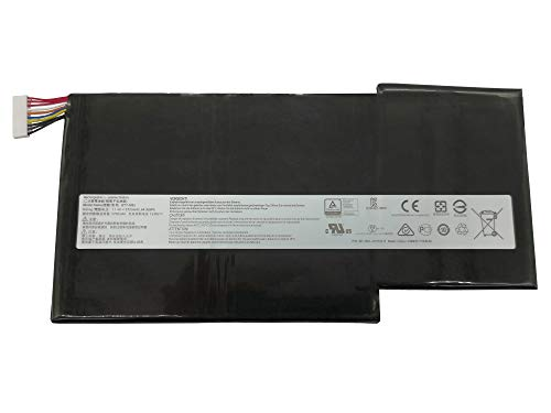 Tinkerpal BTY-M6J Replacement Laptop Battery for for MSI GS63 GS63VR GS73 GS73VR 6RF-001US BP-16K1-31 9N793J200 Series BTY-U6J 11.4V 64.98Wh-12-Month Warranty