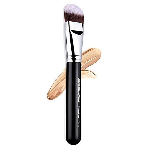 NCTM Horseshoe Pinceau Fond de Teint Noir Exquis Outils de beauté Portable Wet Professional Peinture débutant Appliquer Maquillage
