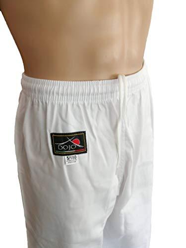 Dojo - Pantalón Blanco para Karate para Entrenamiento (140)