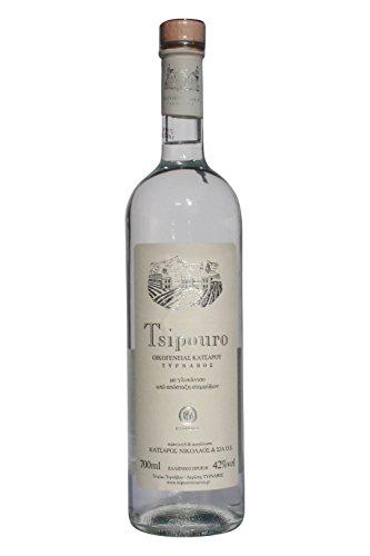Tsipouro Tirnavou 42{72aa9f4ab07a12d25fb21957ef542a393ef92eb18a600ba6ca0fa1e0511b7e27} 700ml der bekannte Tresterbrand Destillat Raki Grappa aus Griechenland