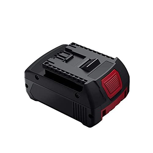 BAT610G 18V 5.0Ah Batería de repuesto para Bosch BAT609 BAT609G BAT618G BAT619 BAT621 BAT620 con indicador de carga LED Herramientas eléctricas inalámbricas