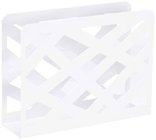 HAKU Möbel 44396 Zeitungsständer 35 x 10 x 26 cm, weiß