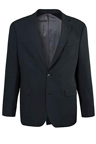 JP 1880 Herren große Größen bis 72, Anzug-Jacke, Baukasten-Sakko Zeus, FLEXNAMIC®, Schnurwoll-Qualität anthrazit 56 705512 11-56