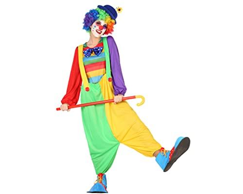 ATOSA disfraz payasa mujer adulto pantalones anchos XL