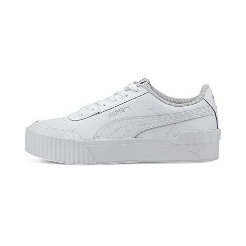 PUMA Damen Carina Lift TW Sneaker, Weiß White White, 39 EU
