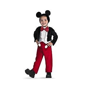 ディズニー ミッキーマウス コスプレ キッズ 110~125cm 黒 5027L-I