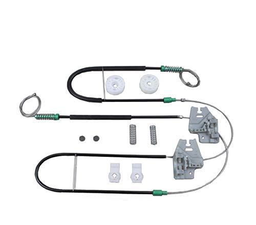 JunHUA ISO9001 Ajuste para el Kit de reparación del regulador de la Ventana BMW E46 Frente a la Izquierda o Derecha 2001-2005
