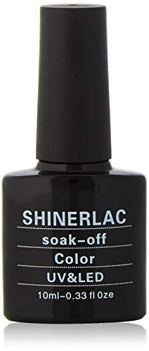 Shinerlac 2016 UV/LED Soak Off Diamant paillettes Gamme Couleurs Vernis à Ongles Gel, Glitzy Rose
