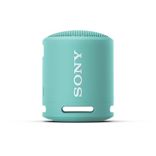 Sony SRS-XB13 - Altavoz Bluetooth Compacto, Duradero y Potente con EXTRA BASS (Resistente al agua, Inalámbrico, 16h Autonomía), Azul Brillante