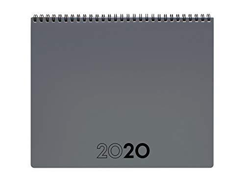 Finocam - Planificador 2020 250x200 mes vista + notas Gris Internacional